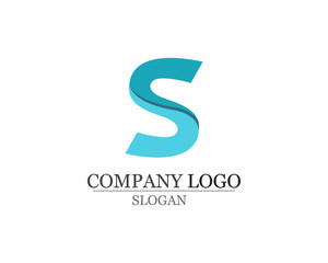 S logo and symbols template vector icons app