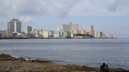 Cuba La Havane Front de mer