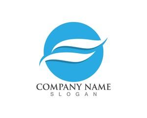 Wave logos icons