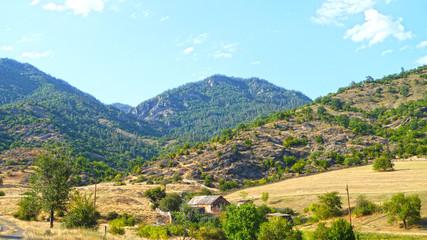rural mountain roads