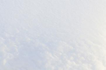 Background of snow