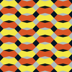 geometric abstract color seamless pattern quality vector illustration for your design