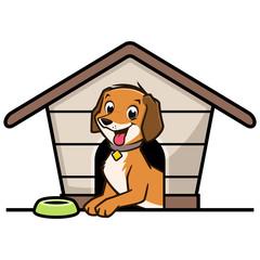 Cartoon Dog House