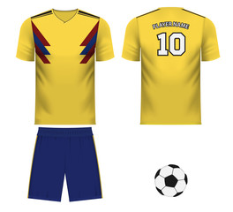Colombia national team jersey fan apparel