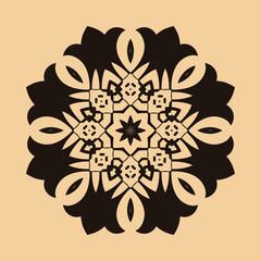 Round Ornament Pattern