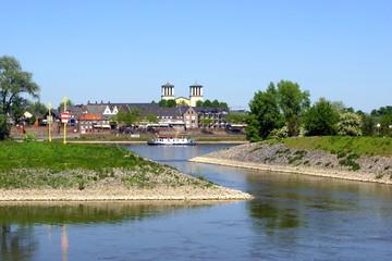 REES am Niederrhein - Stadtpanorama