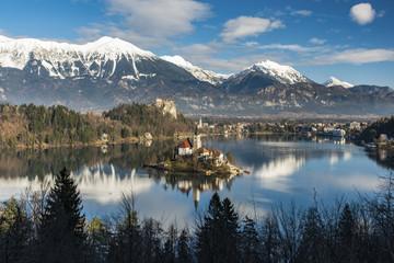 Lake Bled, Carniola, Slovenia