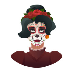Catrina, Day of the Dead symbol of Mexico