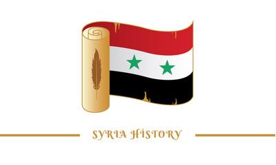 syria flag and syria history