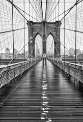 Foto op Aluminium Brooklyn Bridge Brooklyn bridge of New York City