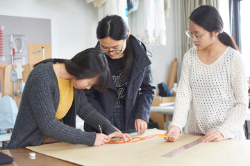 Trainee to study fashion design in the studio
