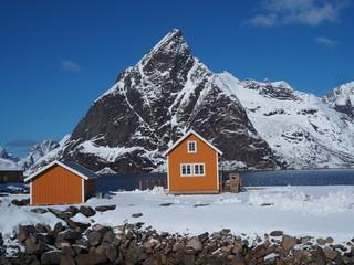 Sakrisøy auf den Lofoten