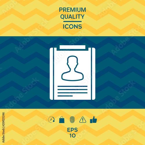 resume icon symbol fotolia com の ストック画像とロイヤリティフリーの