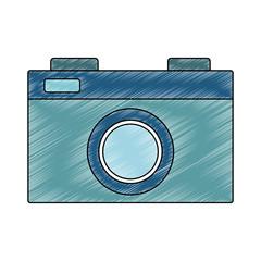 Vintage photographic camera vector illustration graphic design