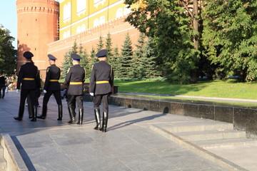 russian Kremlin soldiers