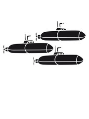 schwarz geschwader crew marine u-boot schwimmen tauchen unterwasser schiff boot matrose kapitän clipart cartoon comic meer