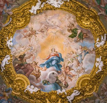 Church of Santa Maria dell'Orto, in Rome, Italy.