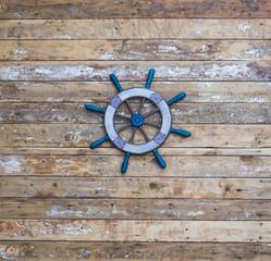 decorative wooden ship ancient wheel