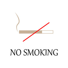 colored no smoking sign icon. Element of web icon for mobile concept and web apps. Detailed colored no smoking sign icon can be used for web and mobile. Premium icon