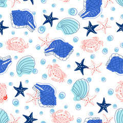 sea abstract pattern