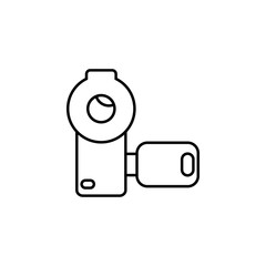 manual camera icon. Element of media and news for mobile concept and web apps. Detailed manual camera icon can be used for web and mobile. Premium icon
