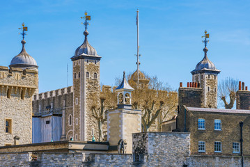 Tower of London architecture