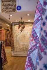 Teppichgeschäft in Istanbul, Türkei
