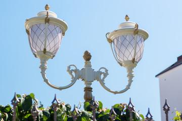 Decorative lampposts in Sochi