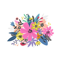 Exotic Flowers Design