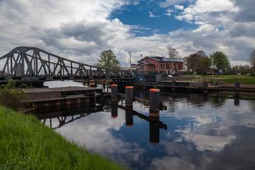 Deichbrücke Jadeallee in Wilhelmshaven