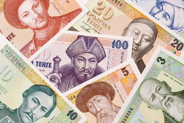 Kazakh money, a background