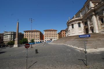 Basilica di Santa Maria Maggiore; sky; town; town square; landmark