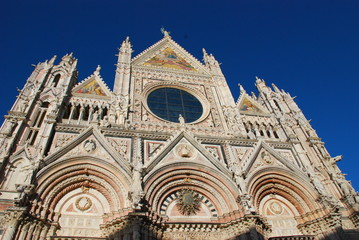 Siena Cathedral; historic site; medieval architecture; cathedral; landmark