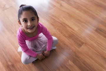 I start my ballet class today!