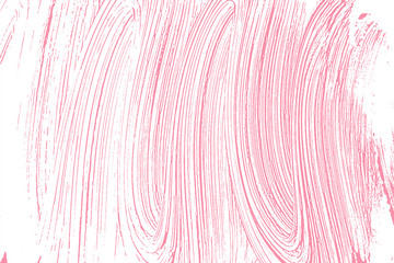 Natural soap texture. Appealing bright pink foam trace background. Artistic optimal soap suds. Cleanliness, cleanness, purity concept. Vector illustration.