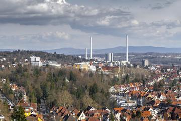 the waste incineration plant Stuttgart Germany