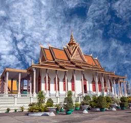 Silver Pagoda in Phnom Penh, Cambodia