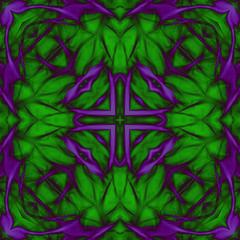 Abstract textured swirl pattern