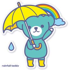 シーズンズテディ 雨上がり