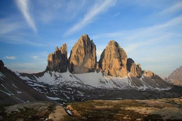 tre cime di Lavaredo - Dolomiti Wall mural