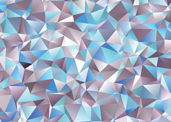 Graphic resource  for your design works. Creative  abstract background. Polygonal vector clip art with triangles. The best template for your artworks.