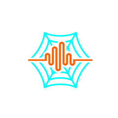 spider pulse icon