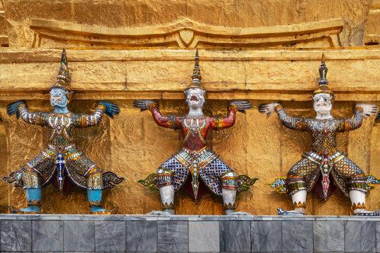 Tempelwächter im Großen Palast