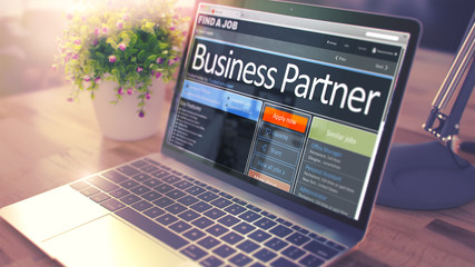 Business Partner Join Our Team. 3D.