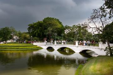 Königliche Sommerresidenz Bang Pa In, Brücke