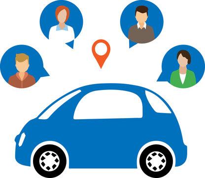Car Sharing Concept