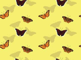 Butterfly Tortoiseshell Background Seamless Wallpaper