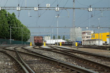 Cargo Train Yard