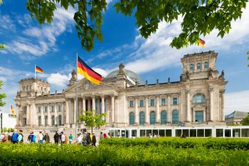 Reichstagsgebäude, Berlin - 8111 Wall mural