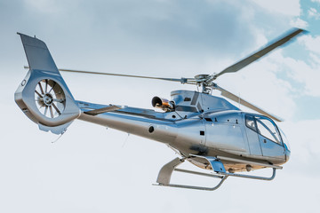 Foto op Canvas Helicopter Eurocopter on takeoff